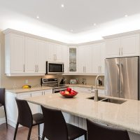 white neutral kitchen