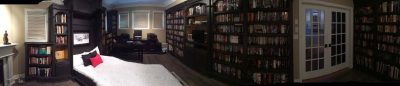 Custom Library panorama photo