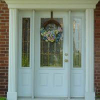 century home door replacement with side lights