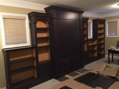 custom murphy bed concealed- home renovation