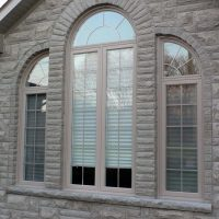 curved and rounded front windows